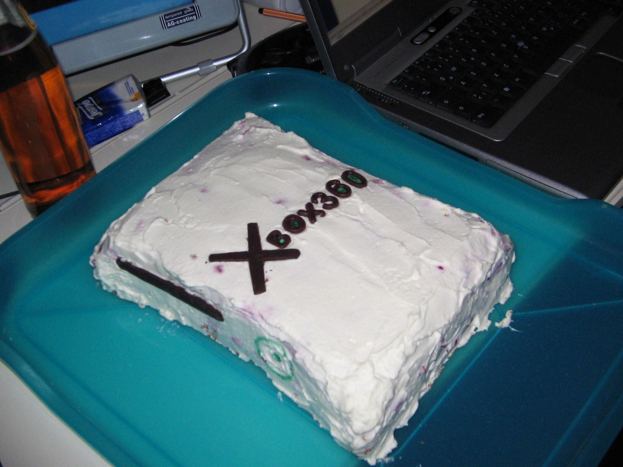 birthday cake XBOX 360 schrankmonster blog