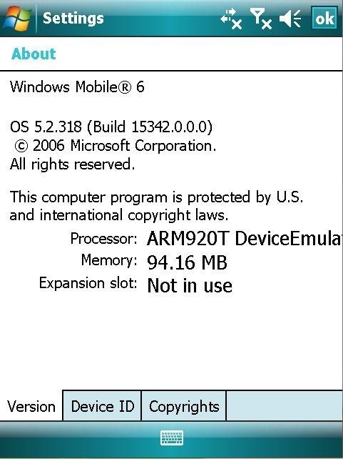 Atom Life работает под управлением популярнейшей ОС Windows Mobile 6…