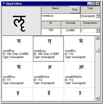 glypheditor