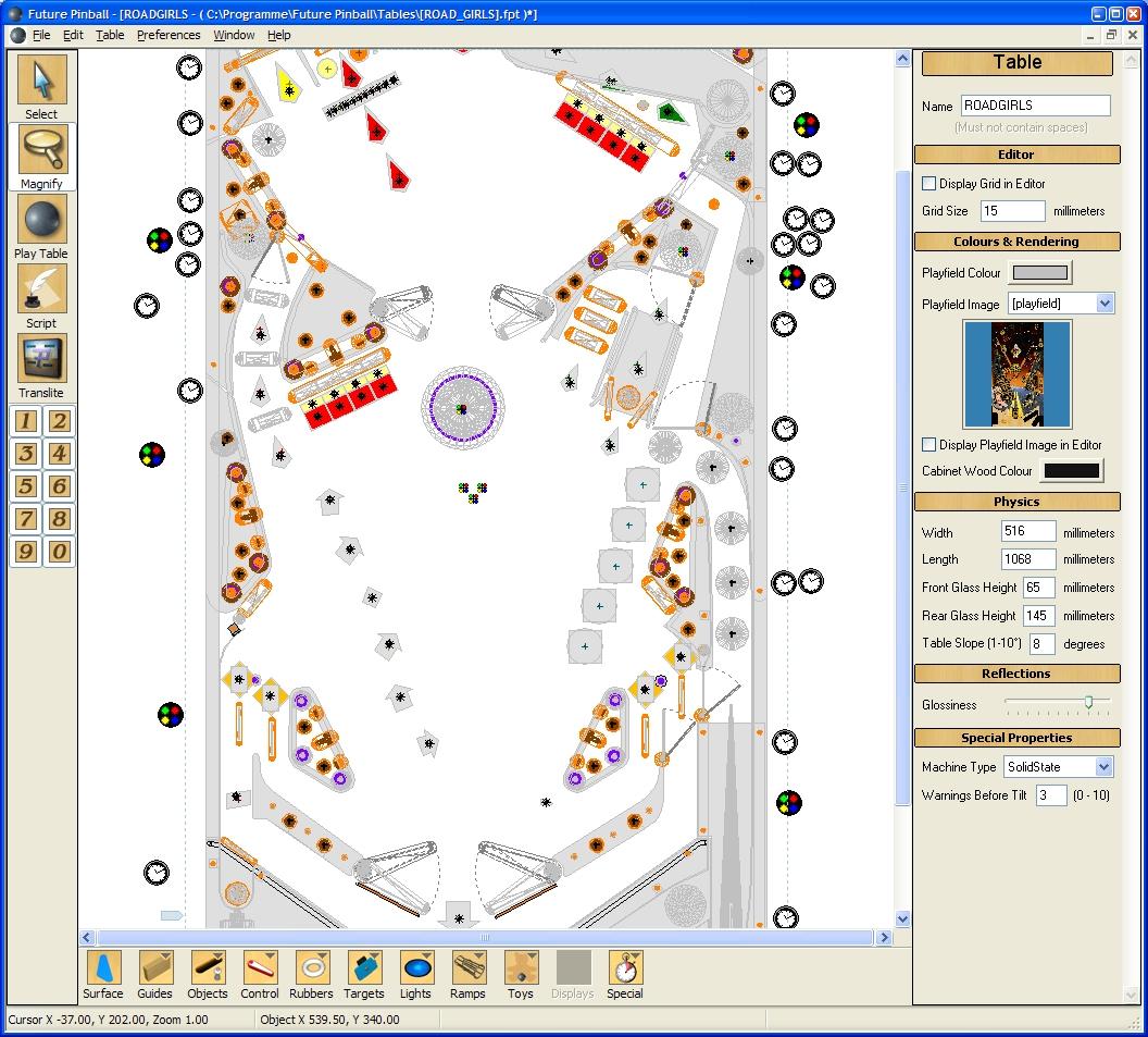 freeware photorealistic pinball simulator/editor ...