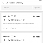 Google Maps public transportation